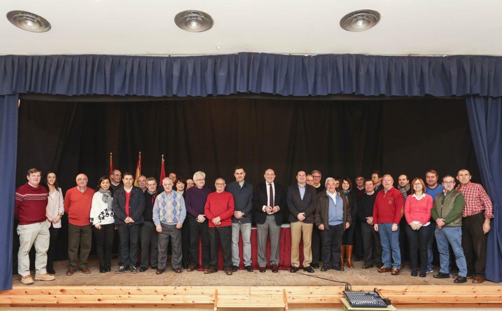 Cogeces del Monte y Geria acogen las dos últimas reuniones informativas con alcaldes de la provincia organizadas por la Diputación de Valladolid