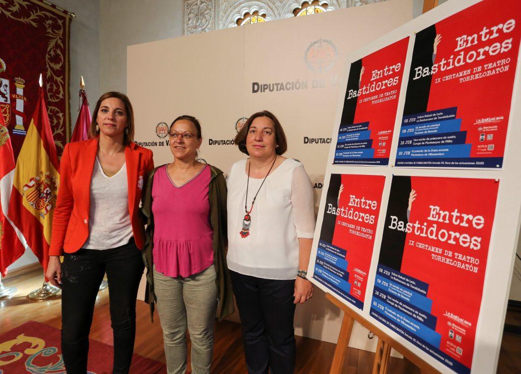 La Diputación de Valladolid presenta el Certamen de Teatro de Torrelobatón