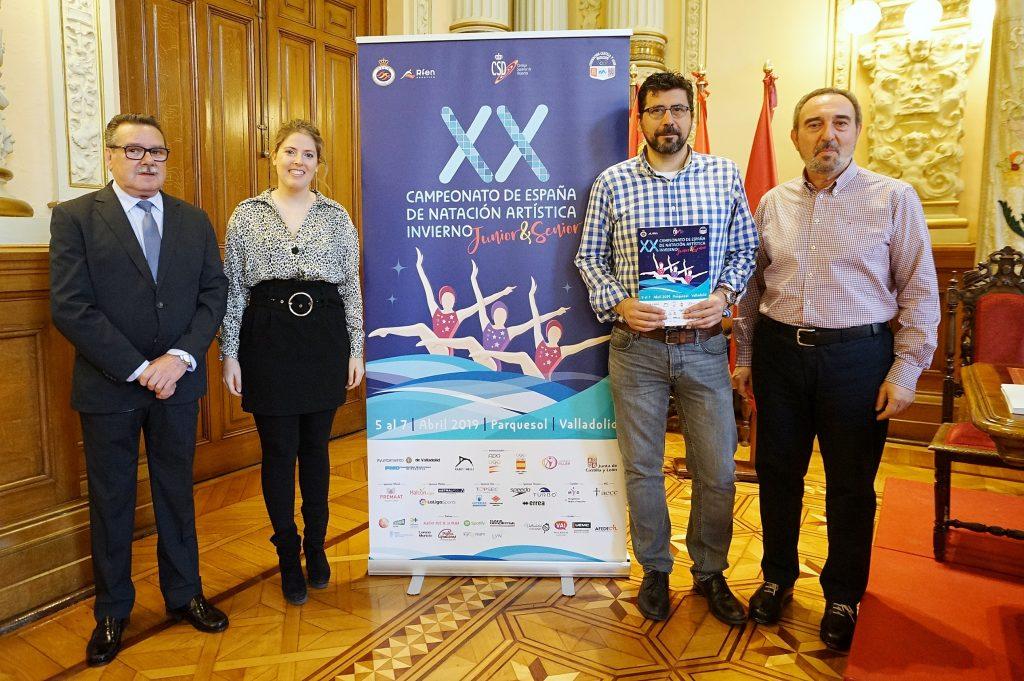 235 nadadoras de 31 clubes participan en Valladolid en el XX Campeonato de España Junior y Sénior de natación artística