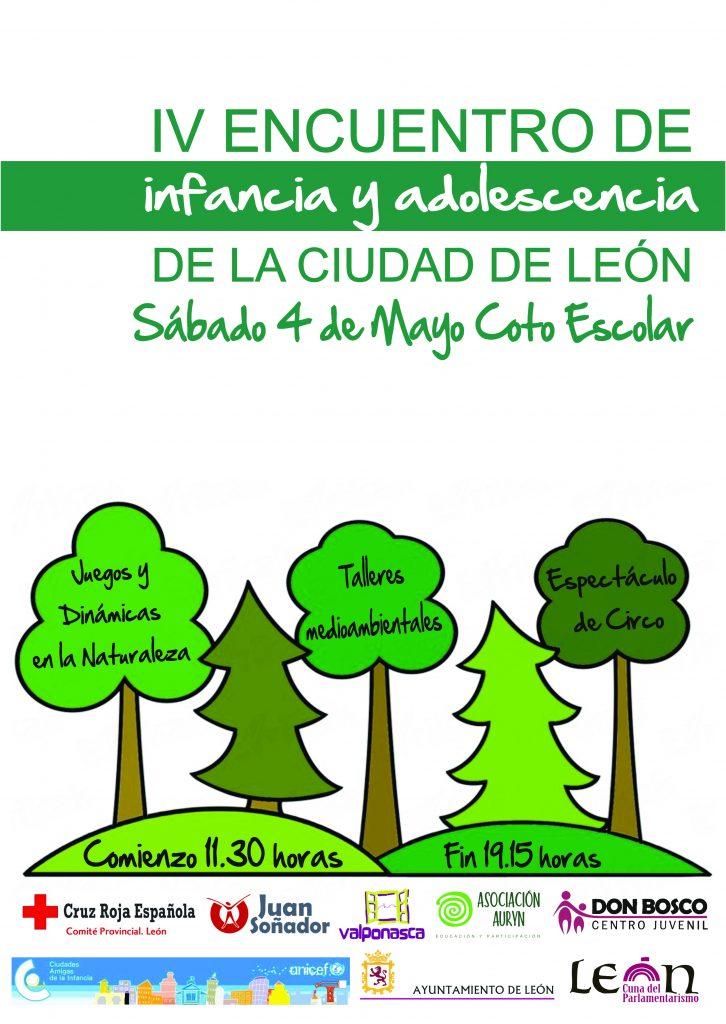Un centenar de menores participarán en el IV Encuentro de Infancia y Adolescencia el 4 de mayo en el Coto Escolar