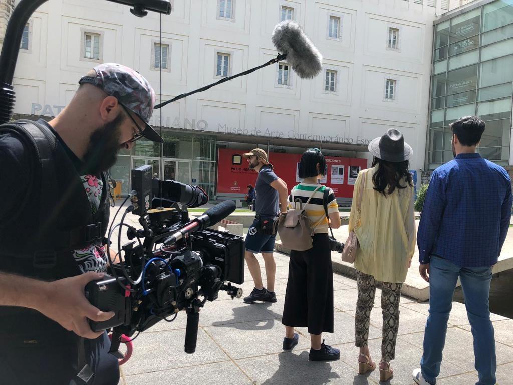 Empieza en Valladolid el rodaje de la serie para la TV china Spain Passion