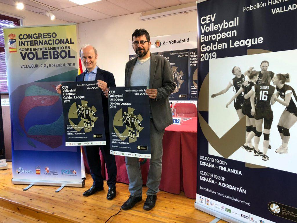El Pabellón Huerta del Rey acogerá dos partidos de la European Golden League