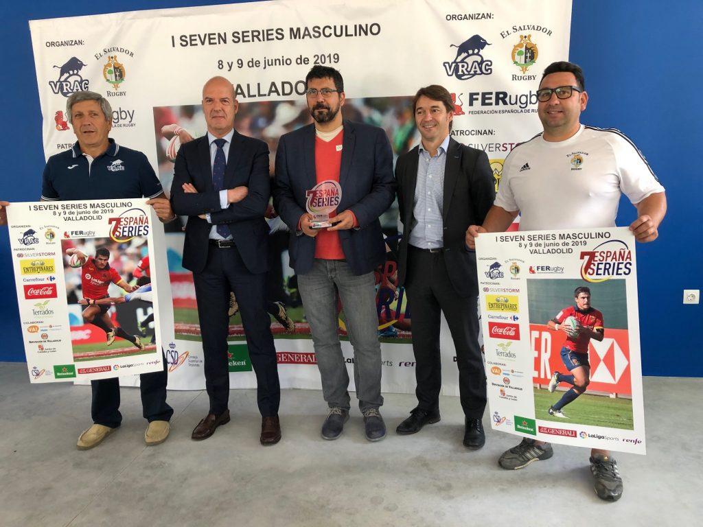 Los campos de Pepe Rojo acogerán la primera fase de la España Seven Series de rugby