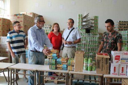 El Ayuntamiento de León colabora con 61 toneladas de comida con el Banco de Alimentos para atender las necesidades básicas de casi mil familias