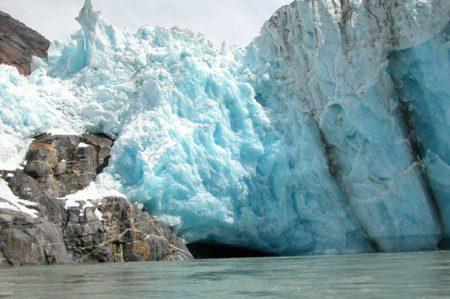 Los glaciares marinos se derriten más rápido de lo previsto