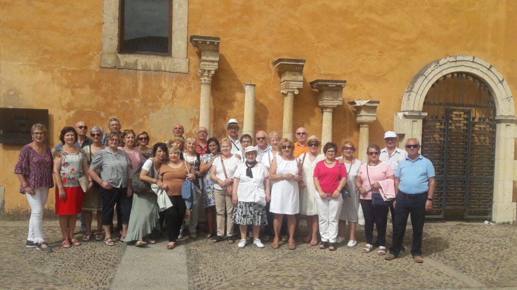 Cerca de 300 mayores del municipio participan en las excursiones de verano de la Unidad de Atención Social