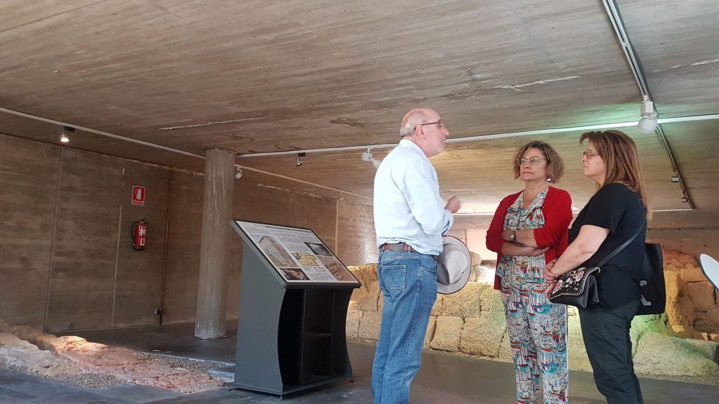 El Ayuntamiento retoma las visitas guiadas por el pasado romano